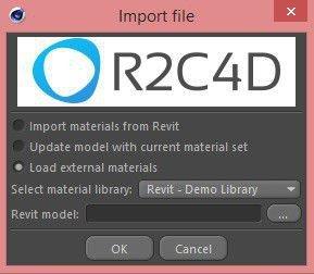 R2C4D Import plugin for MAXON Cinema 4D