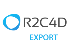R2C4D Export plugin for Autodesk Revit